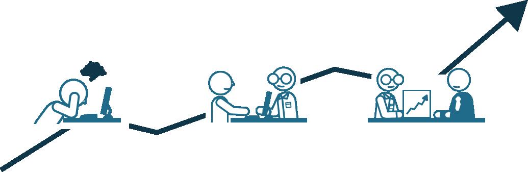 Illustration de l'action d'Ilyad auprès des entreprises